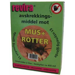 Avskrekking «Revira» for mus / smådyr