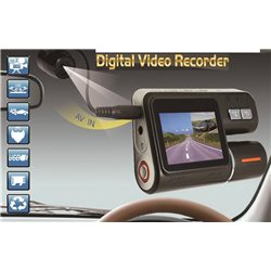 DashCam & RyggeCam i ett - Full HD